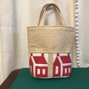 ハウスのアウトポケットのバッグが完成しました