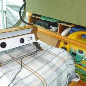 N-VANの車中泊化 USB-LED照明&換気(扇風機)シロッコファンの取付