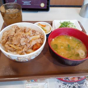 おしんこ納豆牛丼
