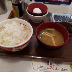たまかけ朝食(ごはんミニ)