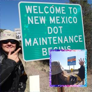 Arizona州 to New Mexico州~ホワイトサンズ国立公園