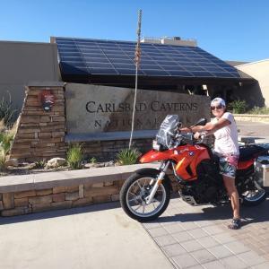 Texas州とNew Mexico州との境に位置するカールスバッド鍾乳洞群国立公園