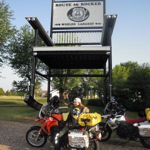 "Get your kicks on ""Route 66"" スプリングフィールド"