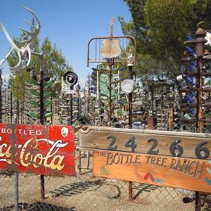 """Get your kicks on """"Route 66"""" カリフォルニア州、バーストゥ"""