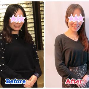 【受講生の変化】3ヵ月で-4kg!半年でトータル-8kg痩せました♡