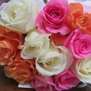"""長月の""""愛のbouquet"""" 3色の薔薇 嬉しいお知らせ 10月はコンサート開催です(^^♪"""
