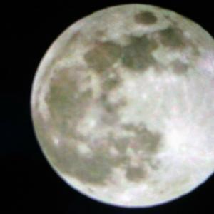 満月の美しさに感動!