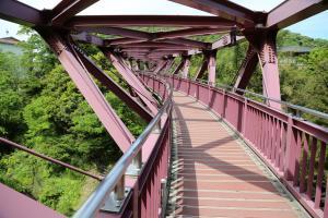 木地師の里「山中温泉」散歩:「あやとりはし」から「ころぎ橋」へ