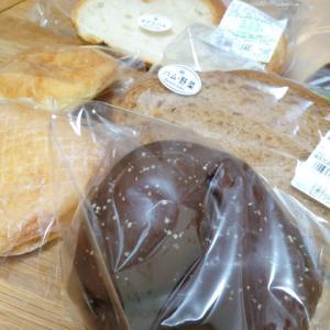 パン屋さんのパンをたくさん買う
