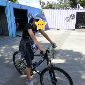 【小6子連れ台湾旅行 レンタサイクルで淡水を走る②】