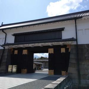 京都二条城にて