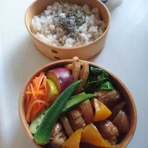 2019/9/25簡単酢豚弁当