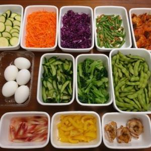 2020/7/26常備菜(鶏肉のトマト煮、いんげんとナッツの炒めものなど) * 先日のMステ