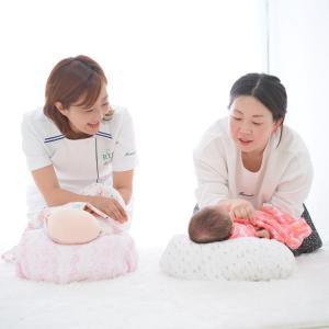 【妊婦教室】出産準備に自分の体力温存にもつながる、おくるみを使って新生児が安心してねれる方法