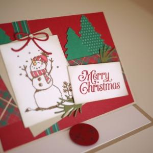 minne/10月だけど、クリスマスカード