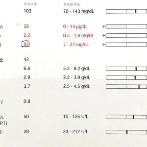 ココの備忘録、7月の検査結果と再生医療のこと。