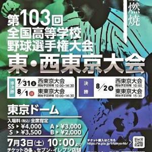 第103回全国野球選手権大会 東西東京大会
