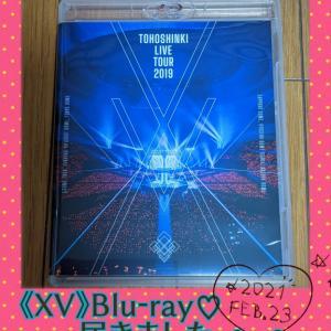 《XV》Blu-ray♡届きました。◕‿◕。