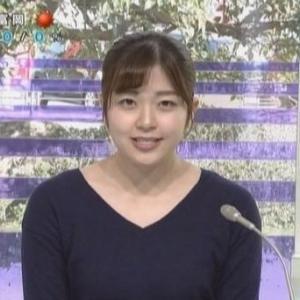 【女子アナのニット乳158】群馬テレビ三上彩奈アナのムチムチニット【ひるポチッ!】