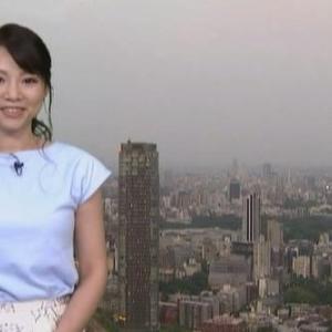 【TBSニュース】気象予報士柴本愛沙さんのノースリ乳とムチムチ二の腕