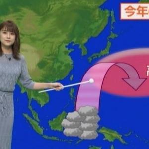 【ムチムチカワイイ!?】気象予報士與猶茉穂(よなおまほ)さんのクビレニットからスケ衣裳まで