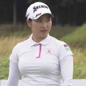 【女子ゴルフ】黄金世代小祝さくらのムチムチ巨乳・横乳