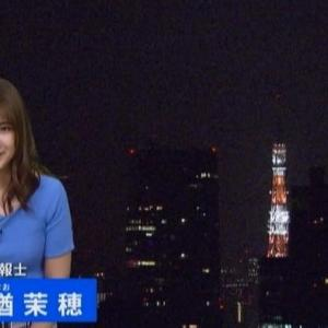 【気象予報士のニット乳㊽】與猶茉穂さんのムチムチクビレニット【TBSニュース】