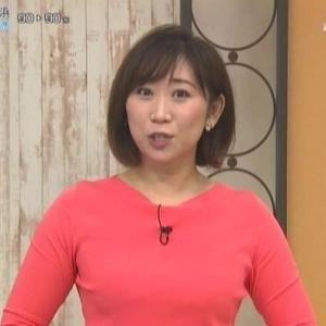 【快適ショッピングスタジオ】ジャパネットの長谷川茜子さんムチムチクビレニット【巨乳】