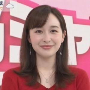【女子アナのニット乳430】TBS宇賀神メグアナのムチムチクビレニット【あさチャン】