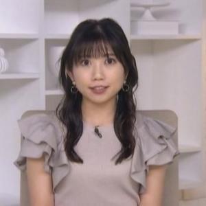 【TBSニュース】黒田菜月アナムチムチクビレでフリルがカワイイ【アラサー女子】