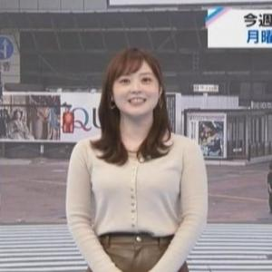 【女子アナのニット乳721】日テレ水卜麻美アナのムチムチクビレニット【ZIP!】