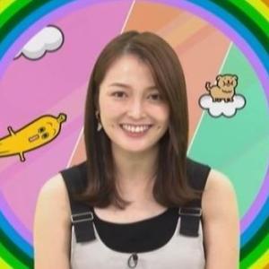 【7コレ】妊娠を発表した福田典子アナのムチムチノースリ二の腕【ちょっとふっくら?】