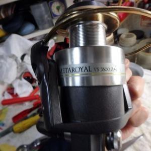ハンドル重っ!!リョービ/メタロイヤルVS3500ZM修理!