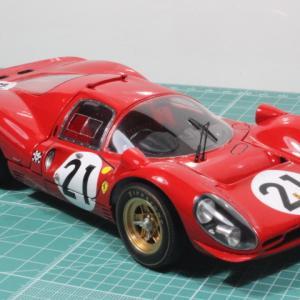 完成。モデルファクトリーヒロ・フェラーリ330P4