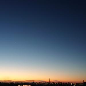明けの明星(金星)☆