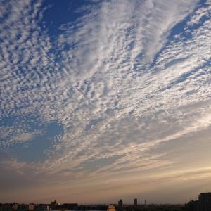 夕日と雲とがん治療☆