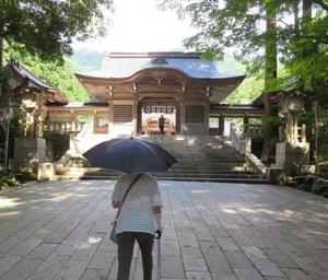 月イチの神社詣り