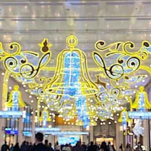 大阪ひとり旅(1) 阪急百貨店のクリスマス