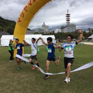 松山お城下リレーマラソン結果(10/12)& 第2回30K走・10月大人の記録会案内
