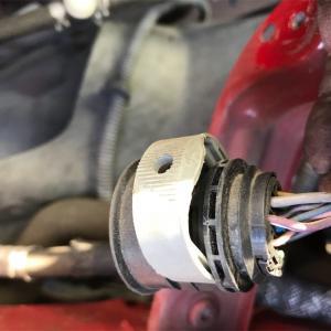 ヘッドライト ポジションライトバルブ交換