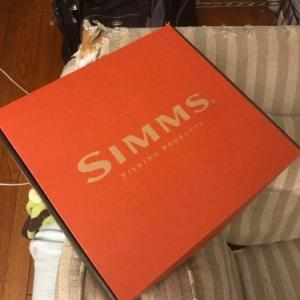 Simmsが新しいウェーダーをくれた。とHatch Finatic 7+を買ってしまった。と、ご報告。