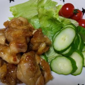 鶏の甘辛煮