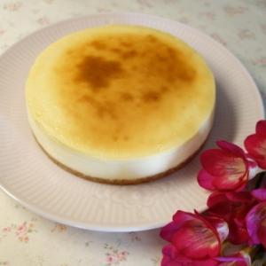 ハードタイプのチーズケーキ