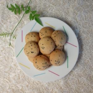黒ごまのクッキー