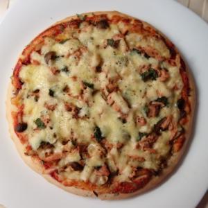 ピザでランチ
