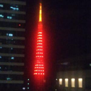真っ赤な東京タワー