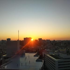 あまりに日の出が美しかったのでつい