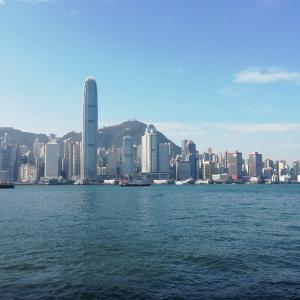 「香港行きのフライトが欠航になる」の話