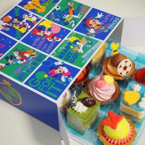 チームミッキーのプチケーキ