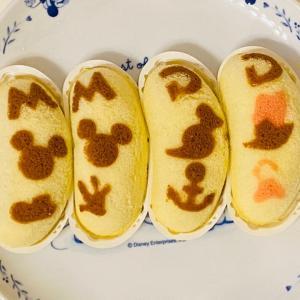 ミッキー&フレンズの可愛いバナナ